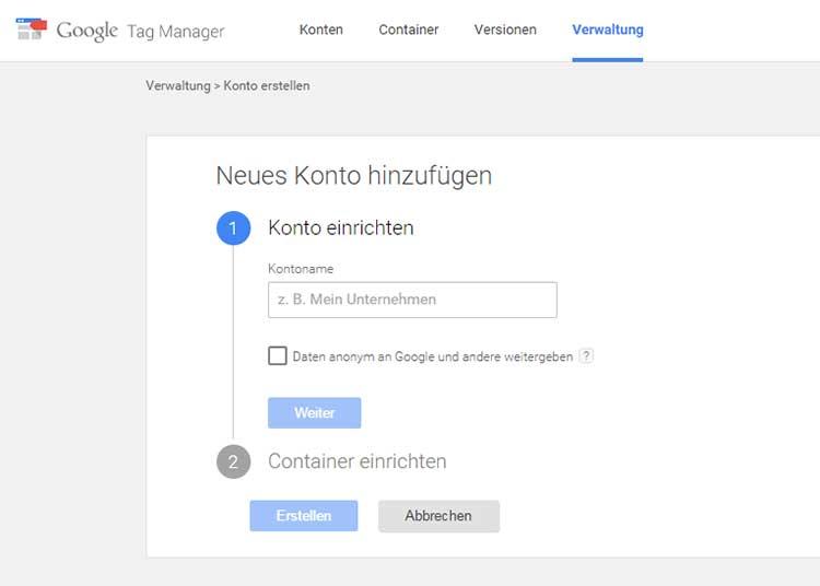 Google Tag Manager einfach einrichten