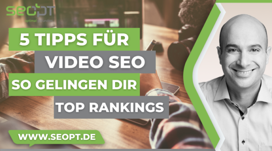 Video SEO Tipps